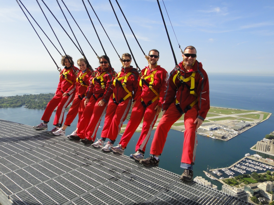Edgewalk @ The CN Tower: Group Shot