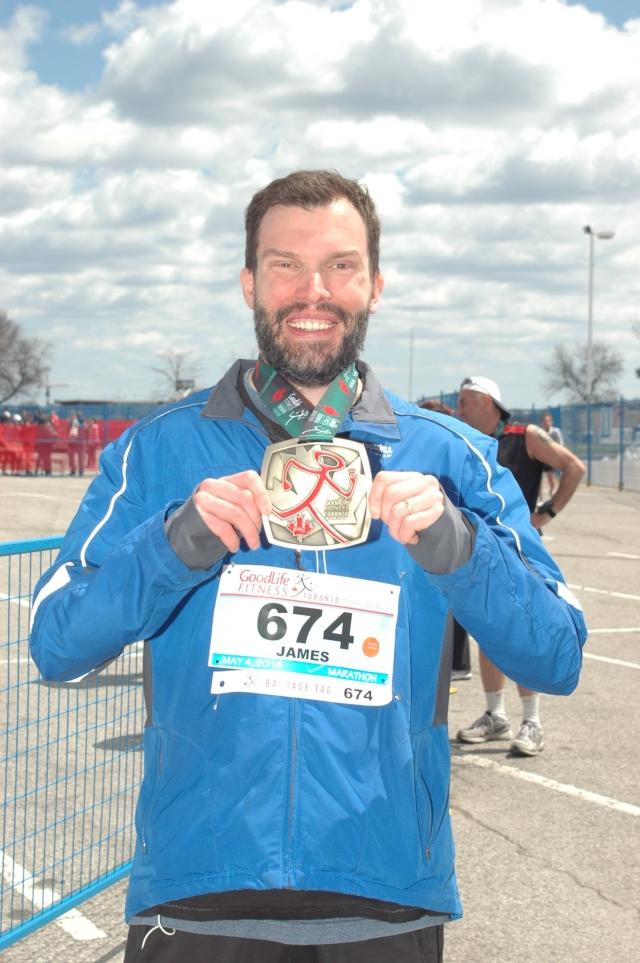 Finished My First Marathon!